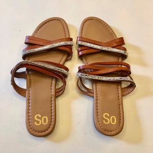 BRAND NEW SO Strappy Sandals